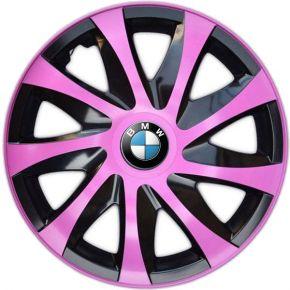 """Dísztárcsa BMW 14"""", DRACO rózsaszín 4 db"""