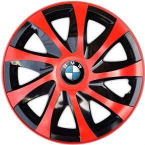"""Dísztárcsa BMW 14"""", DRACO piros 4 db"""