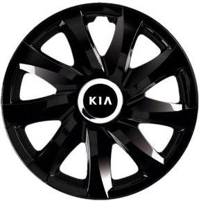 """Dísztárcsa KIA 14"""", DRIFT fekete lakkozott 4 db"""