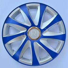 """Dísztárcsa SKODA 14"""", DRIFT EXTRA blue-ezüst  4db"""