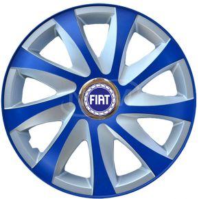 """Dísztárcsa FIAT 14"""", DRIFT EXTRA blue-ezüst  4db"""