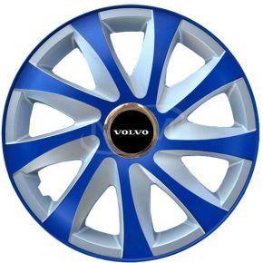 """Dísztárcsa VOLVO 15"""", DRIFT EXTRA blue-ezüst  4db"""