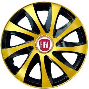 """Dísztárcsa FIAT 15"""", DRIFT EXTRA arany 4db"""
