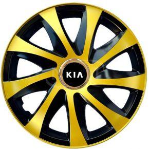 """Dísztárcsa KIA 15"""", DRIFT EXTRA arany 4db"""