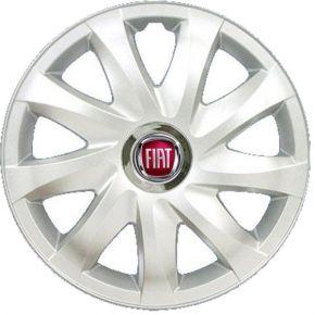 """Dísztárcsa FIAT 14"""", DRIFT szürke lakkozott 4 db"""
