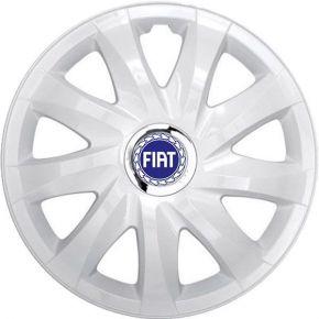 """Dísztárcsa FIAT BLUE 14"""", DRIFT fehér lakkozott 4 db"""