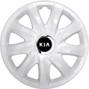 """Dísztárcsa KIA 15"""", DRIFT fehér lakkozott 4 db"""