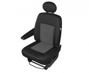 Autóhuzatok Fiat Scudo Méretezett huzatok PERUN-DV1 az elülső, bal oldali fotelre való huzatok