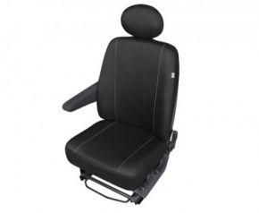 Autóhuzatok Fiat Scudo Pólós védőhuzatok SOLID-DV1 az elülső, bal oldali fotelre való huzatok