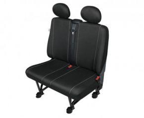 Autóhuzatok Fiat Scudo Pólós védőhuzatok Kétszemélyes díványra való SOLID–DV2 huzat
