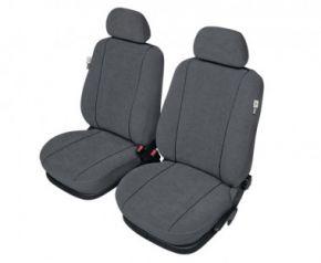 Autóhuzatok Honda Insight Méretezett huzatok ELEGANCE huzatok az első ülésekre galambszürke