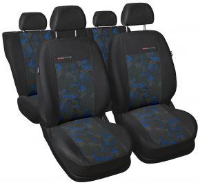 Univerzális üléshuzat Elegance kék