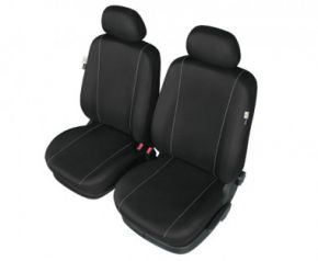 Autóhuzatok BMW 3 sorozat (E46) Pólós védőhuzatok HERMAN huzatok az első ülésekre fekete