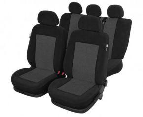 Autóhuzatok Fiat Idea Pólós védőhuzatok Az KRONOS Autóhuzatok grafitszürke - készlet