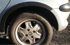 Müanyag kerékjárati PEUGEOT 206 3-ajtós 1998-2012
