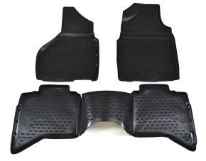 Autó gumiszőnyeg DODGE RAM 1500/2500/3500 2012-2018 USA 4 db