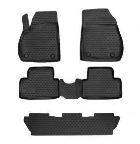 Autó gumiszőnyeg OPEL ZAFIRA C 2012-up, 5 SEATS 5 db