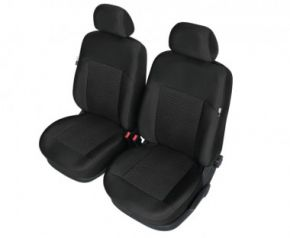 Autóhuzatok Fiat Idea Méretezett huzatok POSEIDON huzatok az első ülésekre fekete