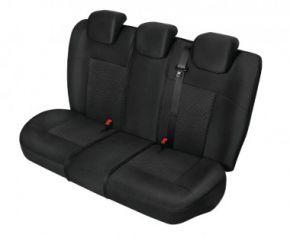 Autóhuzatok Fiat Idea Méretezett huzatok POSEIDON huzatok a hátsó ülésre fekete