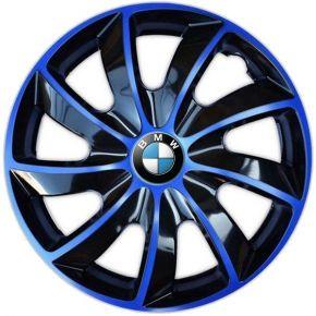 """Dísztárcsa BMW 14"""", QUAD BICOLOR kék 4 db"""