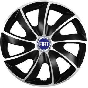 "Dísztárcsa FIAT BLUE 13"", QUAD BICOLOR 4 db"