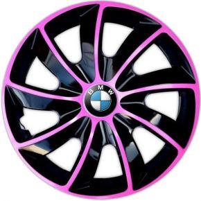 """Dísztárcsa BMW 14"""", QUAD BICOLOR rózsaszín 4 db"""
