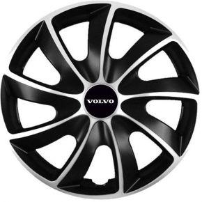 "Puklice pre Volvo 15"", Quad bicolor, 4 ks"