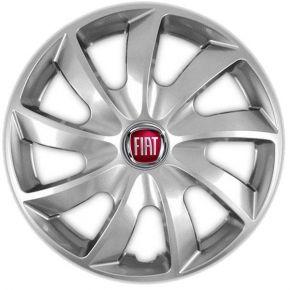"""Dísztárcsa FIAT 14"""", QUAD szürke 4 db"""