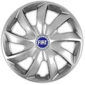 """Dísztárcsa FIAT BLUE 15"""", QUAD szürke 4 db"""