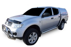 Rozsdamentes oldalsó keretek, Mitsubishi L200 2007-2016 4D (76mm)
