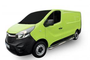 Rozsdamentes oldalsó keretek, Opel Vivaro 2002-2011
