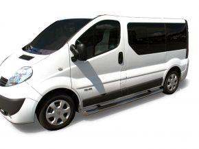 Rozsdamentes oldalsó keretek, Renault Trafic 2002-2011