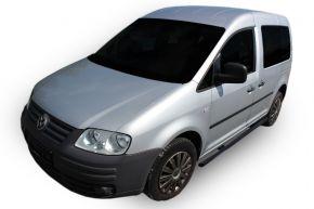 Rozsdamentes oldalsó keretek, Volkswagen Caddy 2003-2015, 60,3 mm BLACK