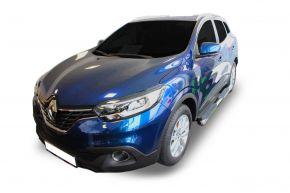 """Rozsdamentes oldalsó keretek, Renault Kadjar 2015-2019 4"""" oval"""