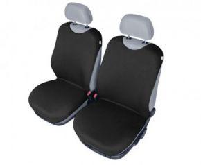 Autóhuzatok Honda Civic IX 2012-tól Pólós védőhuzatok SHIRT COTTON A pólós huzatok az elülső fotelekre fekete