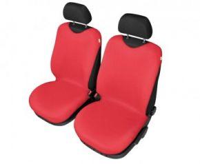 Autóhuzatok Mazda 6 II 2012-ig Pólós védőhuzatok SHIRT COTTON A pólós huzatok az elülső fotelekre piros