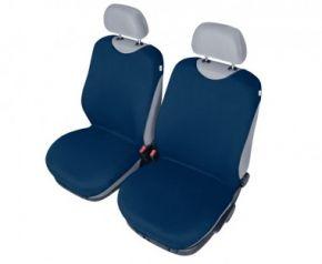 Autóhuzatok Mazda 6 II 2012-ig Pólós védőhuzatok SHIRT COTTON A pólós huzatok az elülső fotelekre sötétkék