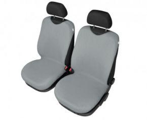 Autóhuzatok Mazda 6 II 2012-ig Pólós védőhuzatok SHIRT COTTON A pólós huzatok az elülső fotelekre szürke
