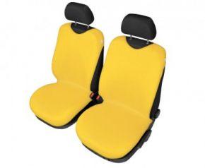Autóhuzatok Nissan Primera II Pólós védőhuzatok SHIRT COTTON A pólós huzatok az elülső fotelekre sárga