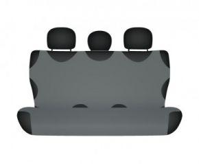 Autóhuzatok Nissan X-Trail III 2013-tól Pólós védőhuzatok SHIRT COTTON hátsó díványra való huzat grafitszürke