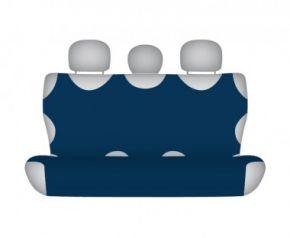 Autóhuzatok Honda Civic IX 2012-tól Pólós védőhuzatok SHIRT COTTON hátsó díványra való huzat sötétkék