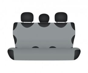 Autóhuzatok Fiat Grande Punto Pólós védőhuzatok SHIRT COTTON hátsó díványra való huzat szürke