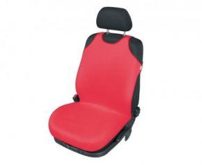 Autóhuzatok Mazda 6 II 2012-ig Pólós védőhuzatok SINGLET pólós huzat az elülső fotelre piros