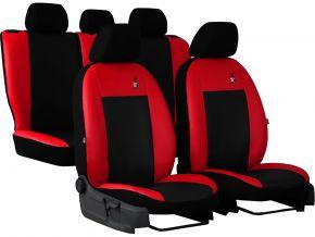 Univerzális üléshuzat Bőr ROAD piros