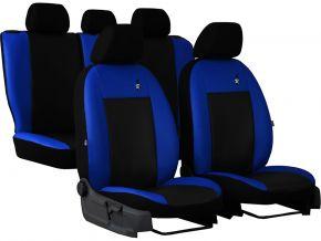 Univerzális üléshuzat Bőr ROAD kék