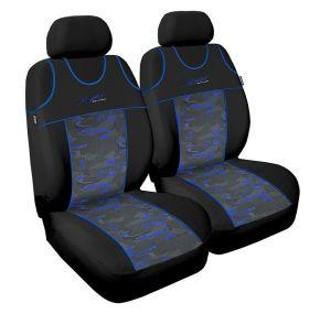 Üléshuzat Stylus, kék, első 2db