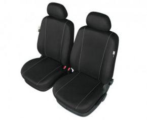 Autóhuzatok Hyundai i20 II 201 SOLID huzatok az első ülésekre fekete