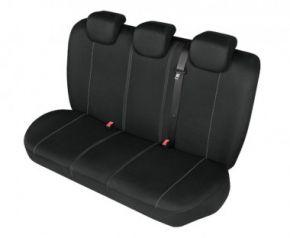 Autóhuzatok Fiat Idea Pólós védőhuzatok SOLID huzatok a hátsó ülésre fekete