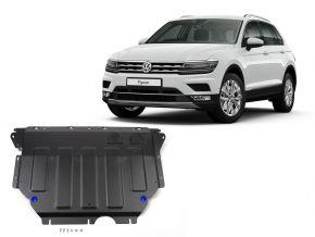 Acél motor- és sebváltóvédő-burkolat Volkswagen Tiguan 1,4TSI; 2,0TSI; 2,0TDI 2016-
