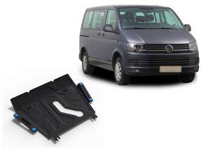 Acél motor- és sebváltóvédő-burkolat Volkswagen  T5 (Caravelle; Multivan; Transporter) minden motorhoz illeszkedik 2003-2010, 2010-2015, 2015-